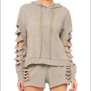 Alo cut hoodie
